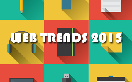 Web Design Trends voor 2015