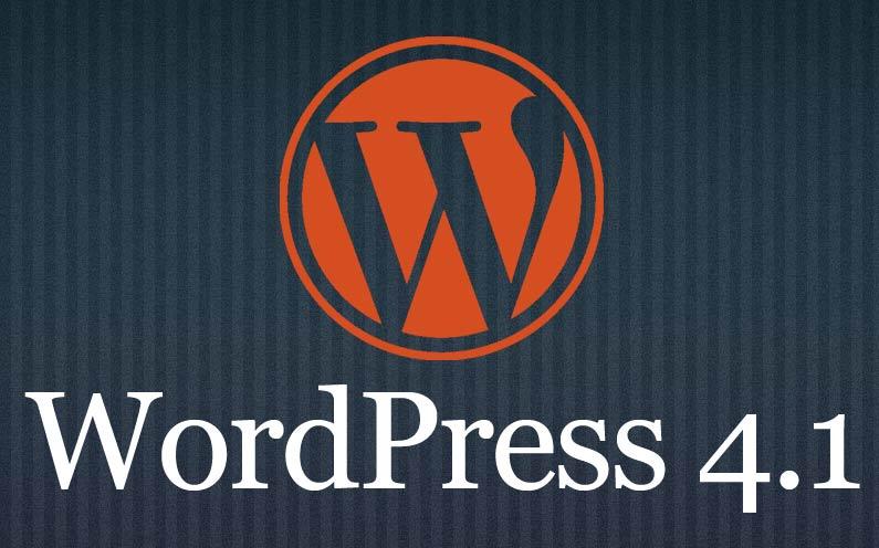 WordPress 4.1 komt er aan