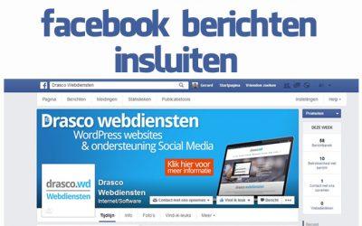 Facebook berichten op je website gebruiken