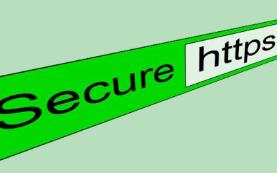 Waarschuwing: Je verbinding met deze site is niet Privé!