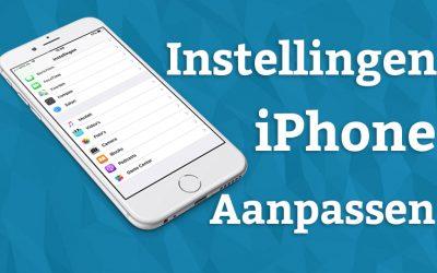 Hoe bewaar je de op de iPhone 7, 8 en X met iOS 11 je gemaakte foto's als JPEG bestand