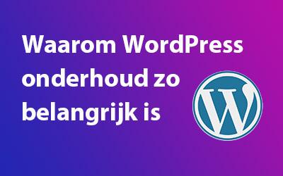 WordPress Updates Noodzakelijk